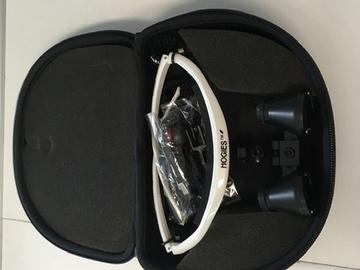 Nieuwe apparatuur: Loepebril Hogies