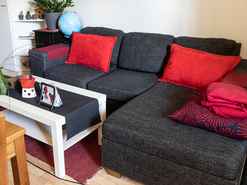 Myydään: Corner Couch / Sofa / Kulmasohva