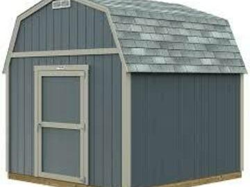 Renting out with online payment: Tuff Shed Storage