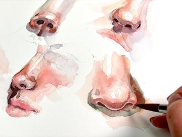 Workshop Angebot (Termine): Porträt zeichnen lernen Teil 2: Nase
