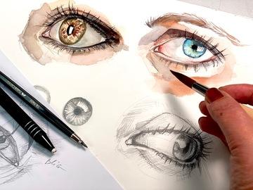 Workshop Angebot (Termine): Porträt zeichnen lernen Teil 1: Augen