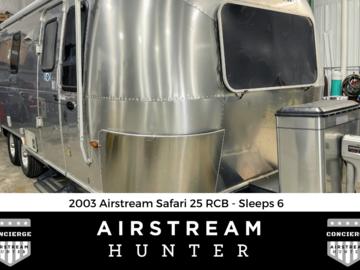 For Sale: SOLD: 2003 Airstream Safari 25 RCB - Sleeps 6