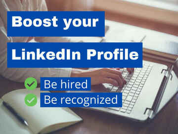 Make a post: I will make and optimize your linkedin profile