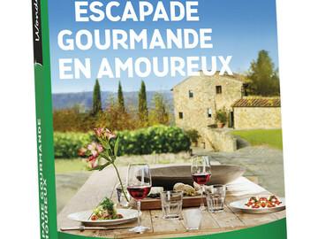"""Vente: Wonderbox """"Escapade gourmande en amoureux"""" """"Spa en duo"""" (129,90€)"""