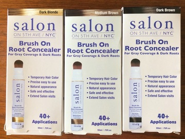 Liquidation/Wholesale Lot: CLOSE OUT PRICE! 18 Salon Brush On Root Concealer MSRP $190+