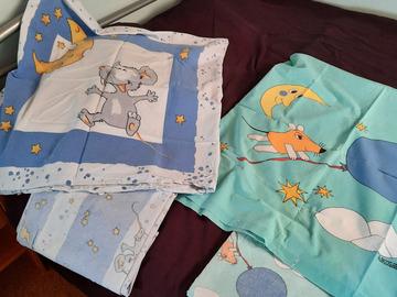 Biete Hilfe: 2 Garnituren Kinderbettwäsche