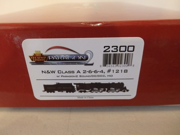 Selling with online payment: Broadway Limited HO N&W Class A 2-6-6-4 Steam Loco Paragon 2