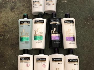 Liquidation/Wholesale Lot: 10 TRESemme Shampoo & Conditioner