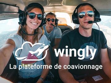 Vente: e-carte cadeau Wingly Co-avionnage (60€)