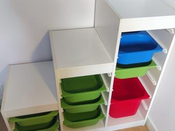 Vente: Combi rangement+boîtes Trofast IKEA