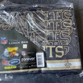 Liquidation/Wholesale Lot: 15 New Orleans Saints NFL Insulated Team Lunch Bags Forever Coll