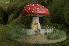 For Sale: Fairytale Mushroom House
