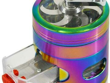 Post Now:  ECO Farm Herb Grinder Rainbow Spice Grinder with Drawer