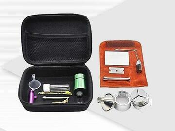 Post Now:  ECO Farm 12 PCS Snuff Kits with Case Tobacco Bag Sets