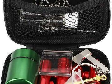 Post Now: ECO Farm 12Pcs Portable Tobacco Tool Storage Bag Kits