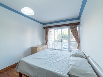 Rooms for rent: Double bedroom with private balcony and shared bathroom - Swieqi