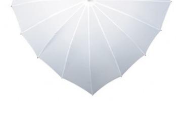 Ilmoitus: Sydämenmuotoinen sateenvarjo