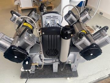 Gebruikte apparatuur: Quattro tandem 8 cilinder