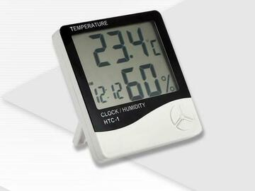 Post Now:  ECO Farm Thermo-Hygrometer 2-in-1