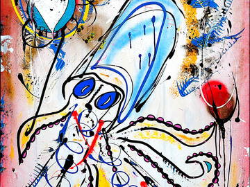 Sell Artworks: Funky Buzz
