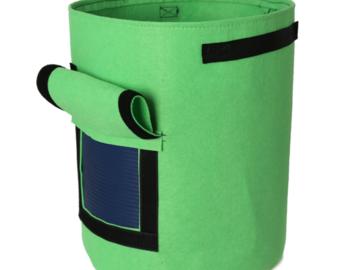 Post Now: ECO Farm Non-woven Garden Planter Pot Fabric Bags With Handles EC