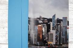 : More Sights of Hong Kong Greeting Card 3 (HK at Dusk Card)