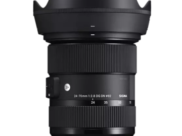 Vermieten: Sigma Art 24-70mm F2.8 DG DN Zoomobjektiv