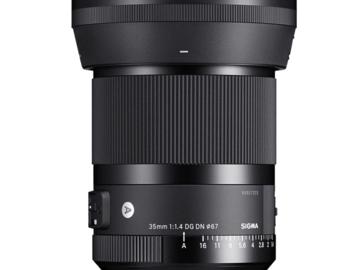 Vermieten: Sigma Art 35mm F1.4 DG DN