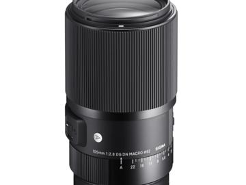 Vermieten: Sigma Art 105mm f/2,8 DG DN Macro