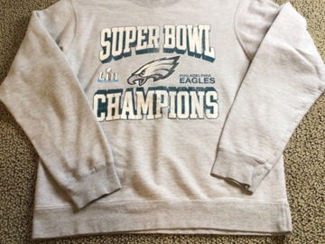 Selling A Singular Item: Super  Bowl Champions Sweatshirt