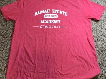 Selling A Singular Item: Ramah Sports Academy T-shirt
