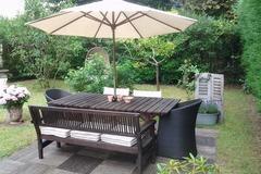 Offres: Ravissant jardin à louer dans un écrin de verdure - 400 m2