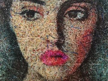 Sell Artworks: She demanded, pushing (n.578) - Dolls series