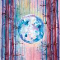 Selling with online payment: La Luna 11x14 Art Print
