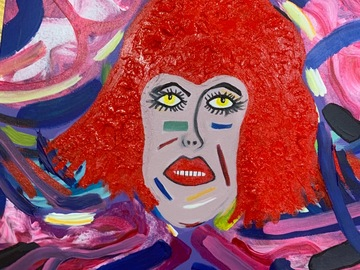 Sell Artworks: Red Head