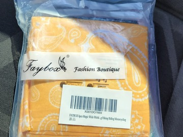 Liquidation/Wholesale Lot: FAYBOX Magic Wide Wicking Headbands Outdoor Headwear Bandana