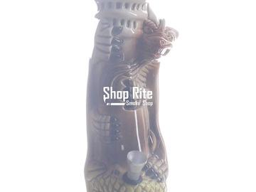 Post Now: Ceramic Cheetah Bong