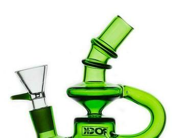 Post Now: Rock Glass - Mini Recycler Dab Rig