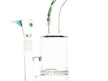 Post Now: Bent Neck Honeycomb Perc Water Pipe