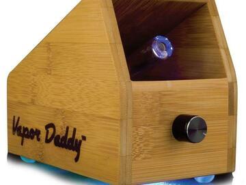 Post Now: Deluxe Daddy Original Vapor Daddy Box Vaporizer - Red Bamboo