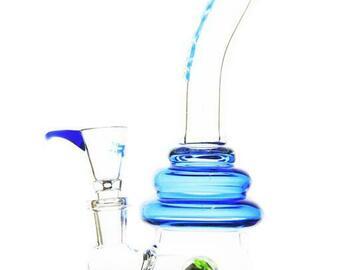 Post Now: Rock Glass - Showerhead Perc Hourglass Bong