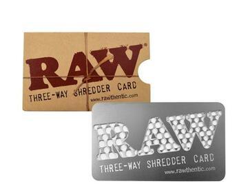 Post Now: RAW Grinder Card 3-Way Shredder