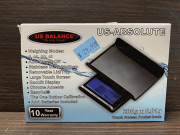 Post Now: US Absolute (2 Digit Scale)