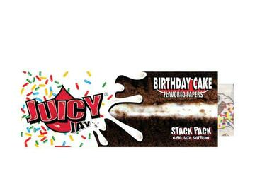 Post Now: Juicy Jay's Rolling Papers with Tips - King Size - Birthday Cake