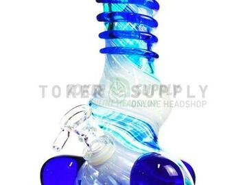 Post Now: Wide Base Colored Glass Water Pipe