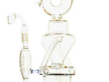 Post Now: Lookah Glass - Sprinkler Perc Coil Recycler