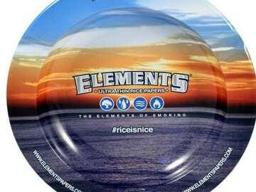 Post Now: ELEMENTS METAL BLUE ASHTRAY