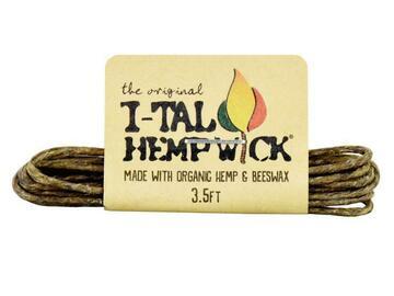 Post Now: I-TAL HEMP WICK 3.5 Ft