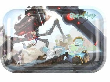Post Now: Rick And Morty Rolling Tray