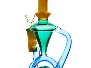 Post Now: Multi Color Recycler Dab Rig
